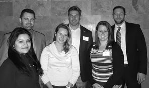 Young Business Leaders at a recent meeting and mixer